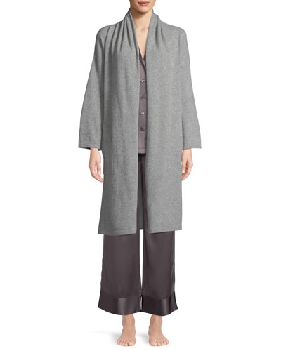 Cashmere Patch-Pocket Robe and Matching Items