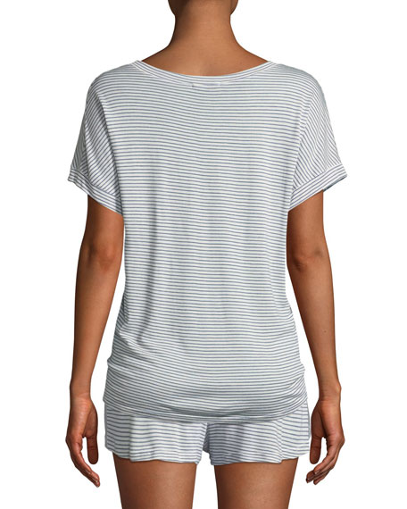 Georgie Striped Lounge T-Shirt