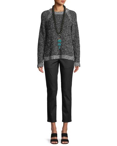 Organic Cotton Bouclé Short Box Sweater and Matching Items