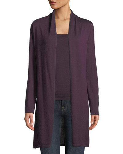 Modern Superfine Cashmere Duster Cardigan and Matching Items