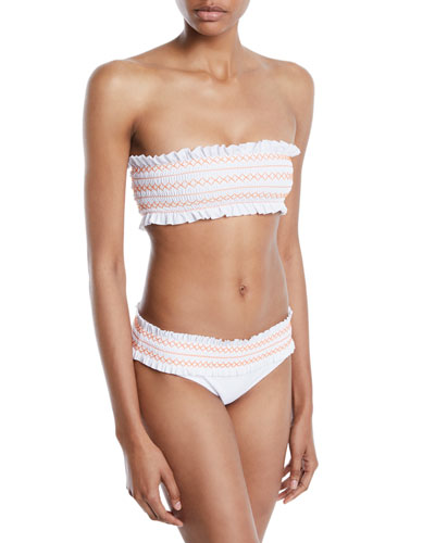 Costa Hipster Swim Bikini Bottom, New Ivory and Matching Items