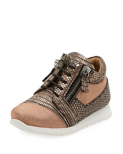 Mixed Media Glitter Neoprene Sneaker, Toddler/Kids and Matching Items