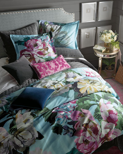 Delft Flower Sky Queen Duvet Cover and Matching Items