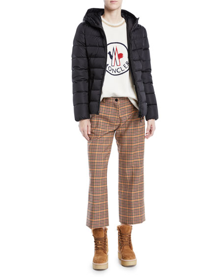 Tetras Channel-Quilted Puffer Jacket