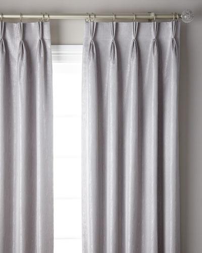 3-Fold Pinch Pleat Shimmer Curtain Panel, 120
