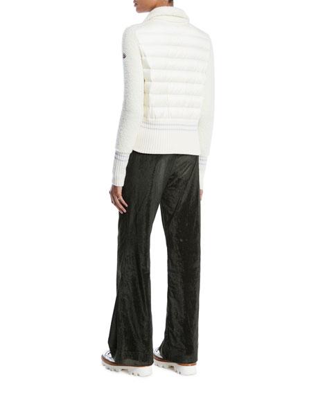 Maglione Tricot Wool-Blend Cardigan