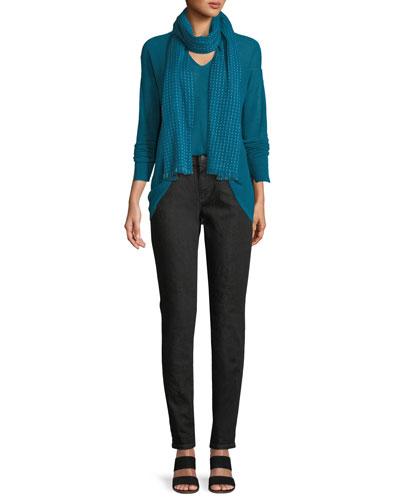 Organic Linen Box Sweater, Plus Size and Matching Items