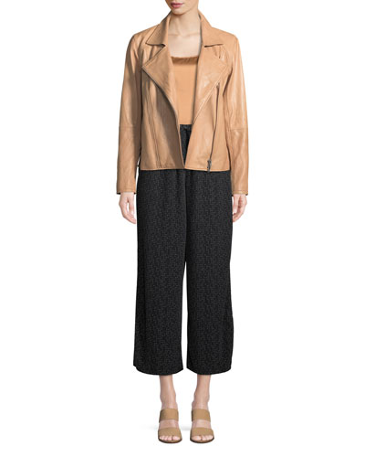 Morse Code Wide-Legs Cropped Pants, Plus Size and Matching Items