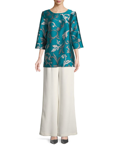 Dare to Flair Jacquard Tunic and Matching Items