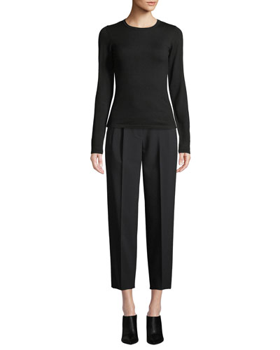 City Pants Tapered-Leg Cropped Prospective Light Pants and Matching Items