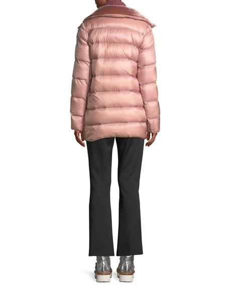 Torcol Puffer Coat w/ Velvet Collar
