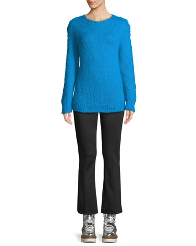 Mohair-Blend Pullover Sweater and Matching Items