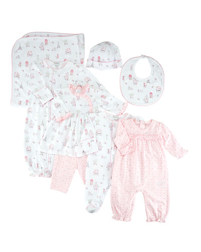 Parisian Stroll Printed Dress Set, Size 3-24 Months  and Matching Items