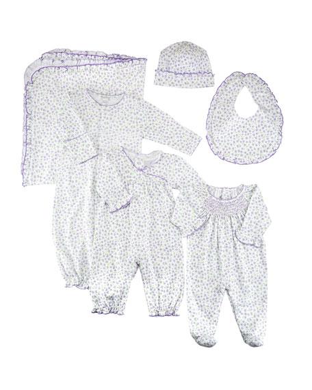 Rambling Roses Pima Convertible Gown, Size Newborn-S
