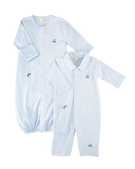 SCE Transit Pima Convertible Gown, Size Newborn-S