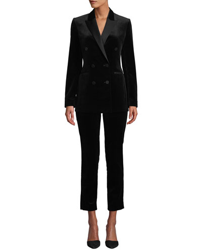 Stretch Velvet Tux Jacket and Matching Items