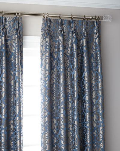 Bellantine 3-Fold Pinch Pleat Blackout Curtain Panel, 96