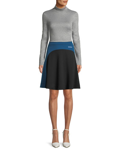 Long-Sleeve Turtleneck Sweater w/ 205 W 38  and Matching Items