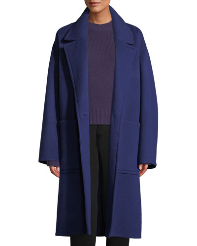 Patch Pocket Wool Car Coat and Matching Items