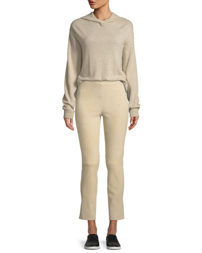 Hooded Overlap Cashmere Sweater and Matching Items