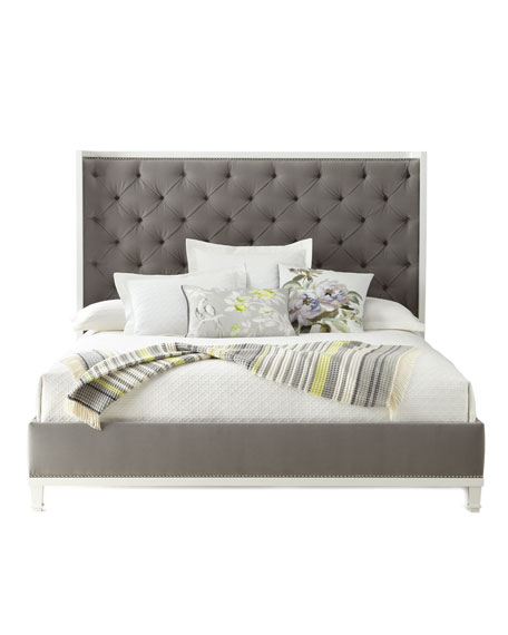 Kindry Tufted Queen Shelter Bed