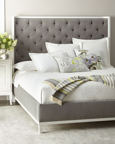 Kindry Tufted Queen Shelter Bed  and Matching Items