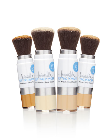 100% Mineral Invincible Setting Powder – Translucent