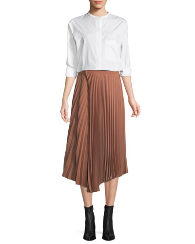 Drape Pleated Skirt and Matching Items
