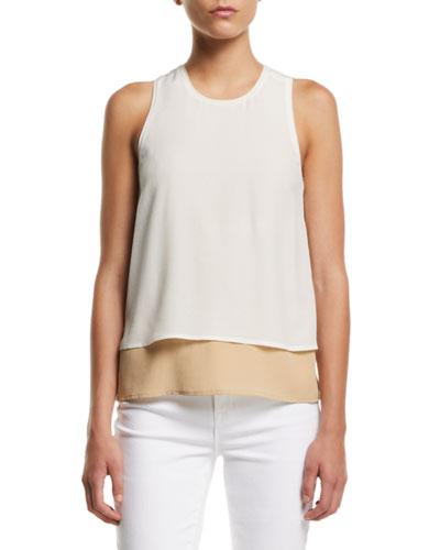 Catarina Layered Silk Tank Top and Matching Items
