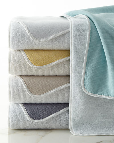 Graccioza Double Tone Washcloth Bath Towel Hand