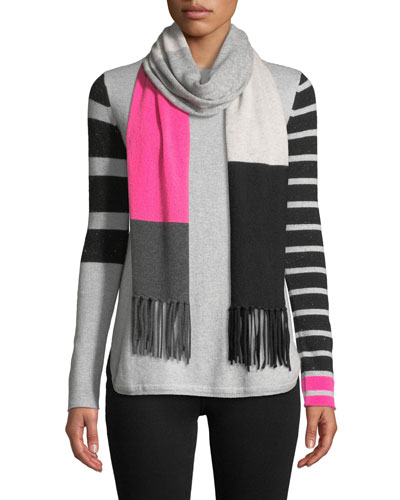 Classic Pop Striped Cashmere Sweater and Matching Items