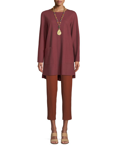 Boiled Wool Jersey Tunic and Matching Items