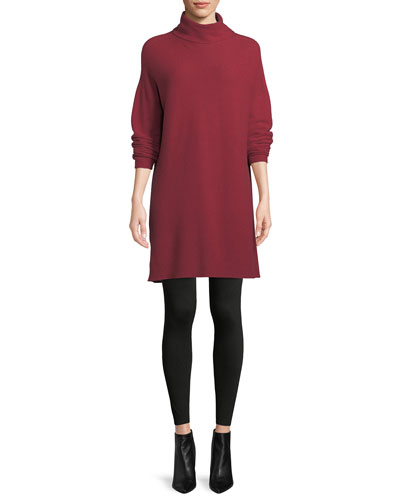 Cashmere Funnel-Neck Tunic and Matching Items