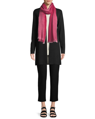 Ultrafine Merino Straight Long Cardigan and Matching Items