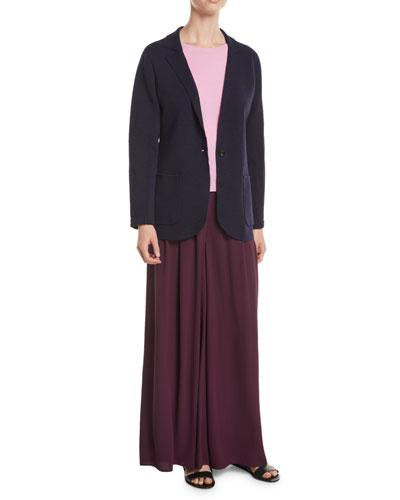 Washable Wool Crepe Blazer Jacket and Matching Items