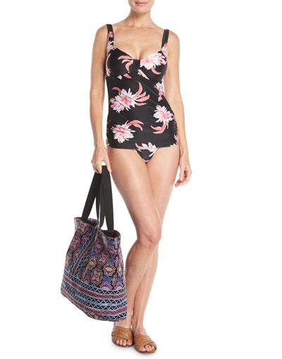 Desert Flower Singlet Tankini Swim Top, DD Cup and Matching Items