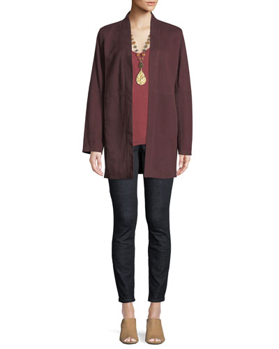 Suede Kimono Jacket and Matching Items