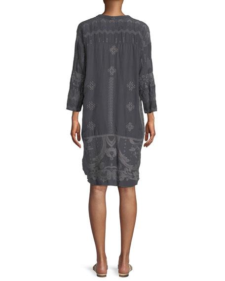McCalli Embroidered Georgette Tunic