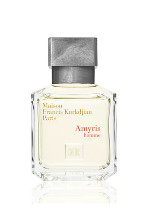 Maison Francis Kurkdjian Amyris homme Eau de Toilette, 2.4 oz./ 70 mL Amyris homme Eau de Toilette Travel Spray Refills, 3 x 0.37 oz./ 11 mL Amyris homme Eau de Toilette, 6.8 oz./ 200 mL
