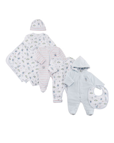 King of the Castle Printed Convertible Gown, Size Newborn-S  and Matching Items