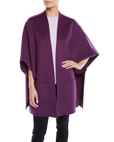 Wool-Cashmere Cape  and Matching Items