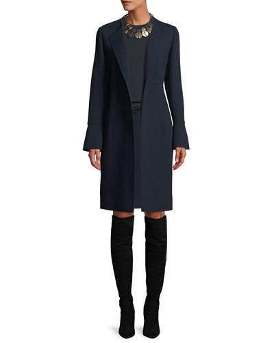 Russo Nouveau Crepe Wool Coat and Matching Items