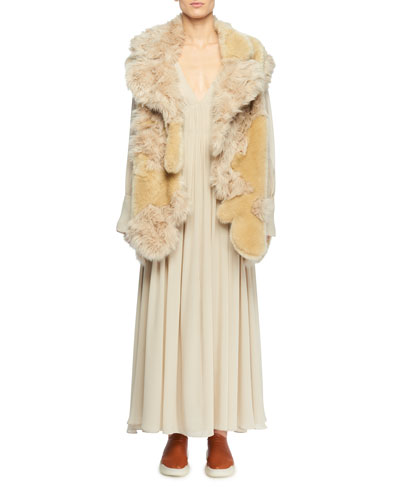 Faux-Fur Patchwork Vest and Matching Items
