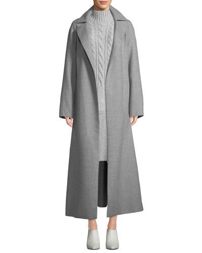 Kalena Wrap Cashmere Coat  and Matching Items
