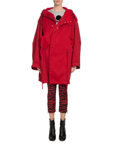 Duffy Hooded Oversized Coat and Matching Items