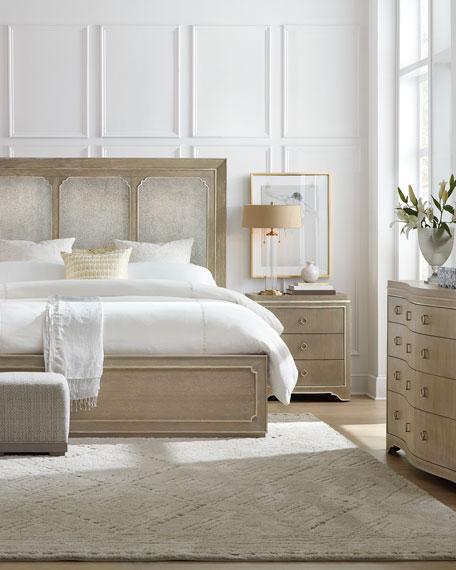 Eleri Modern King Panel Bed