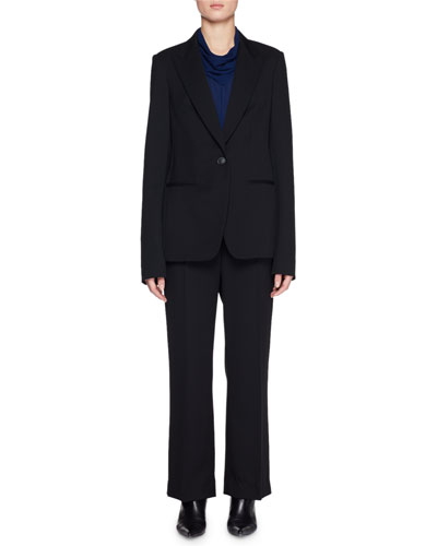 Naycene One-Button Wool Jacket  and Matching Items