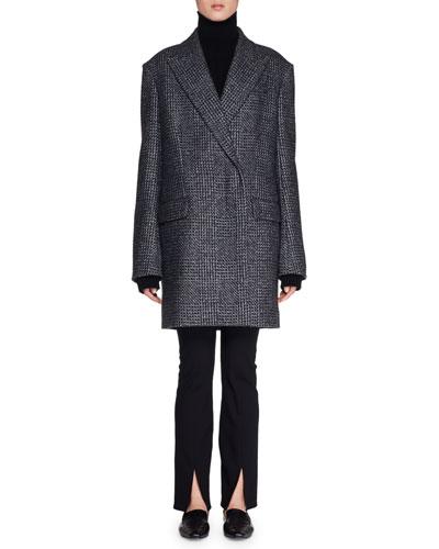 Mewey Wrap Fleece Wool-Blend Coat  and Matching Items