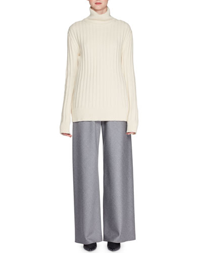 Marton Turtleneck Long-Sleeve Cashmere Sweater and Matching Items