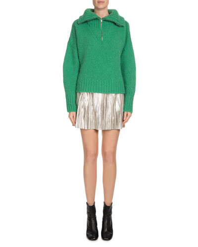 Saky Wool-Blend Pullover Sweater and Matching Items